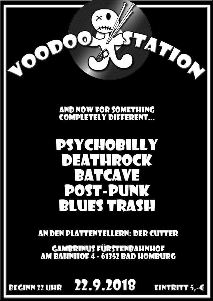 Voodoostation 22.9.2018